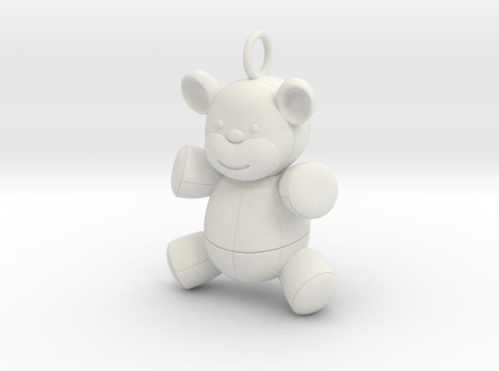 Cute Cosplay Charm - Teddy Bear 3d printed
