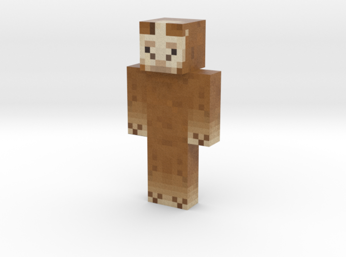 JanTheLama | Minecraft toy 3d printed