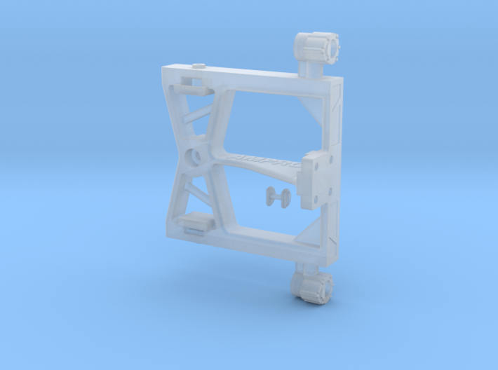 JJRC01-01 Rear Hitch Mount and Lights 3d printed
