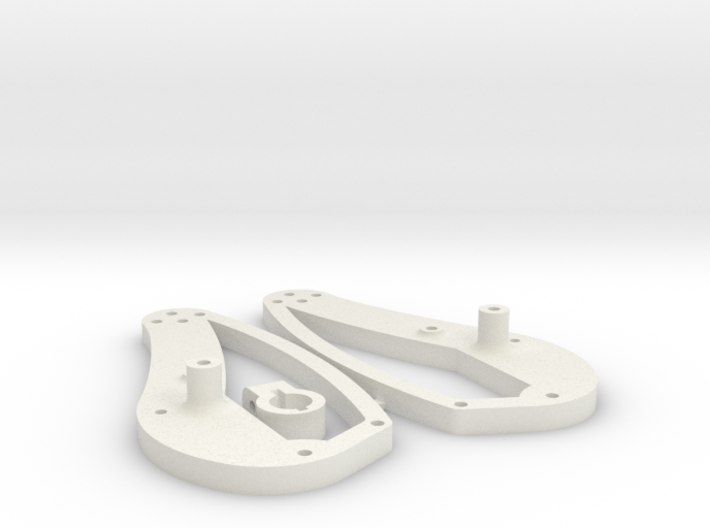Stingray Chassis upgrade plates 3d printed
