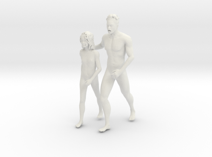 Printle V Couple 221 - 1/24 - wob 3d printed
