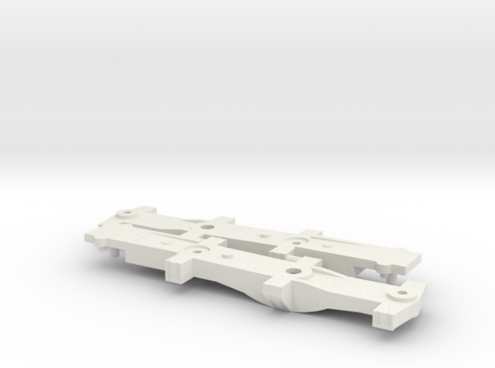 N-scale 1/160 DODX Nuclear Flask Car Span-Bolsters 3d printed