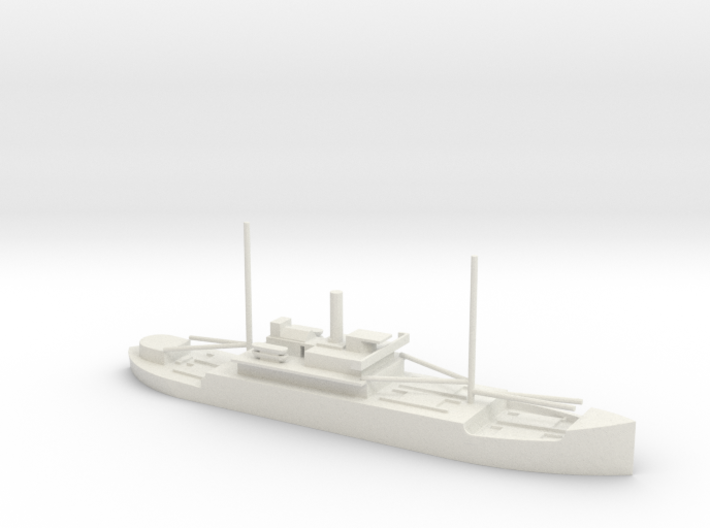 1/700 Scale 4005 ton Wood Cargo Ship SS North Bend 3d printed