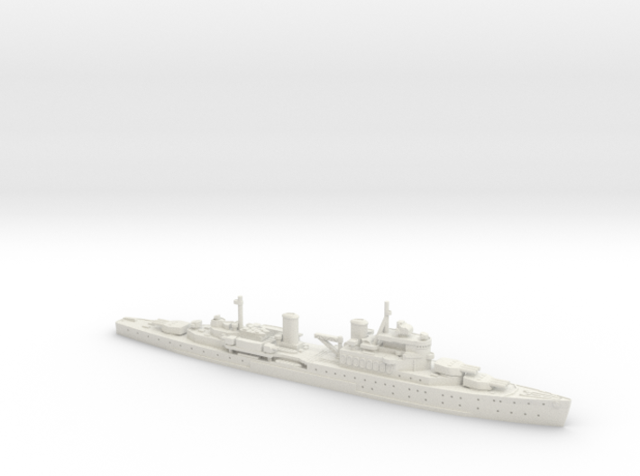 HMS Uganda 1/700 3d printed