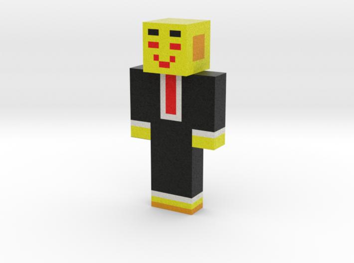 SAISEN_C | Minecraft toy 3d printed
