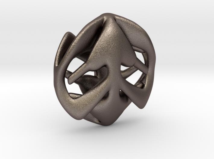 Hearts Pendant 3d printed