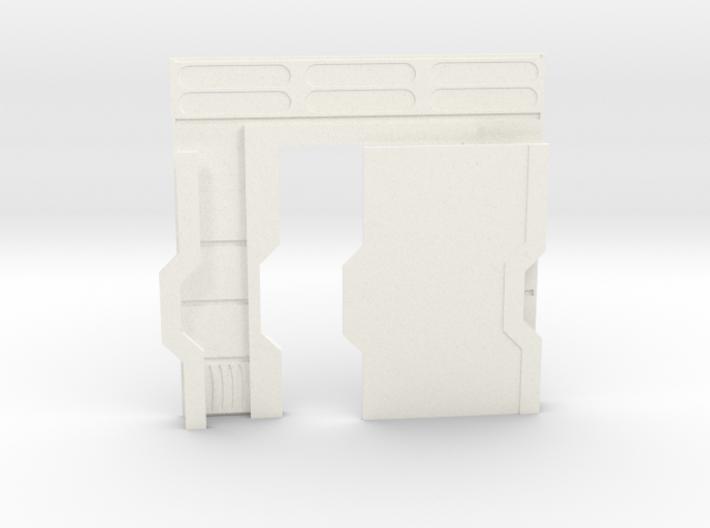 Starship Interior Left Door (wargaming) 3d printed