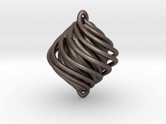 Twist Pendant 3d printed
