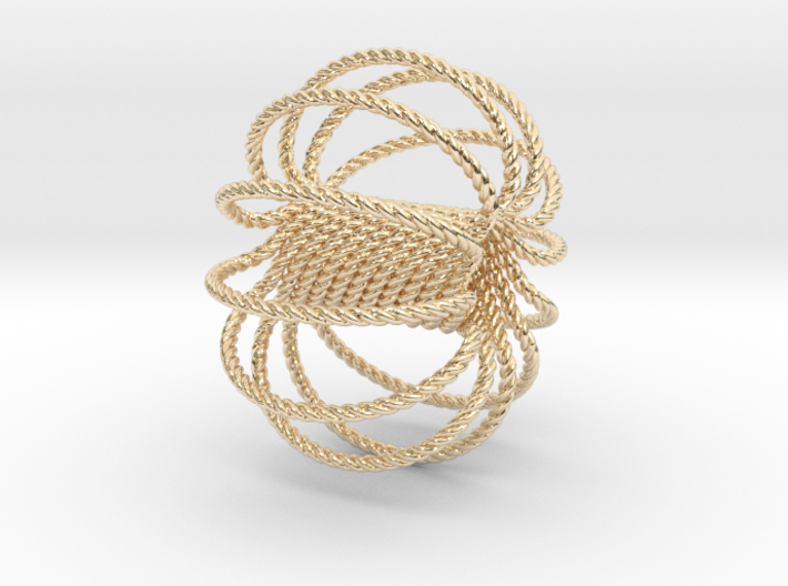 12 Ring Harmonizer Coil 3d printed