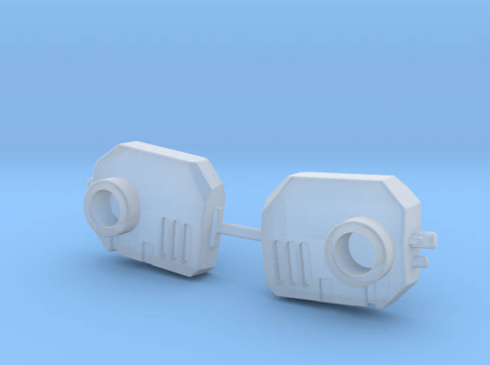 Jet pack mounts, several variants 3d printed