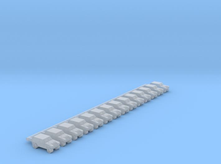 1/700 Komatsu LAV (x14) 3d printed