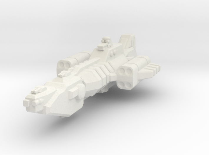 Union Missile Frigate 3d printed