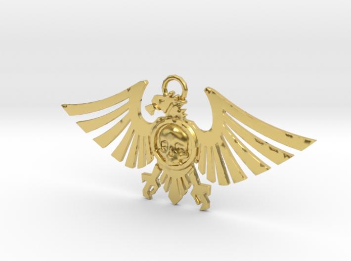 Leguio Custodes Aquila Necklace 3d printed