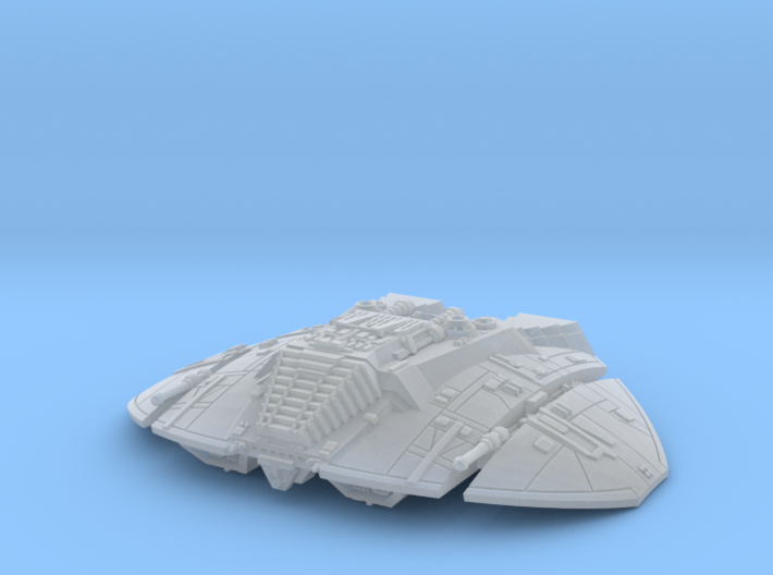 BSG Cylon Raider mk1 flight 3d printed