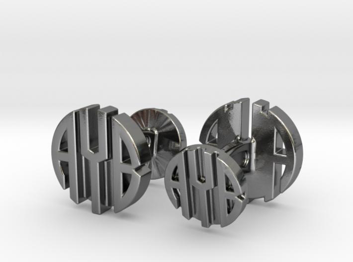 AYB Cufflinks 3d printed