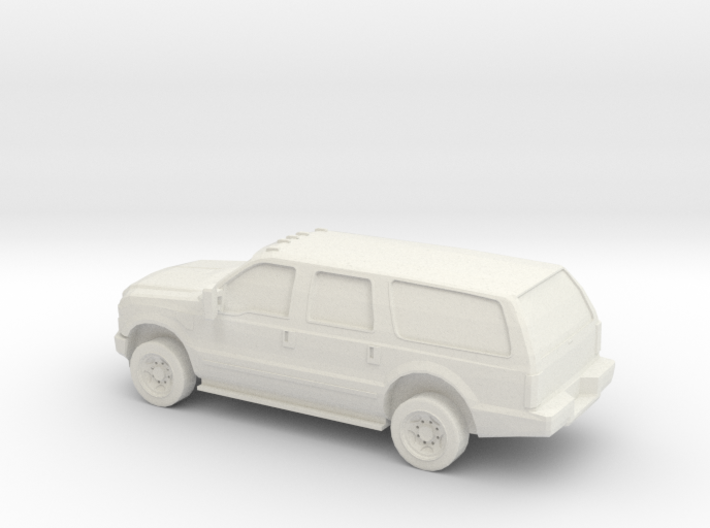 1/72 2010 Ford Excoursion 3d printed
