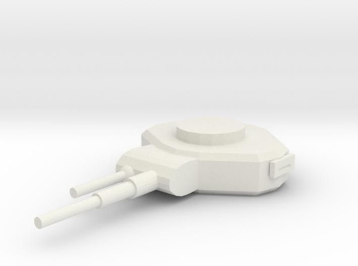 WeaponTurret 3d printed