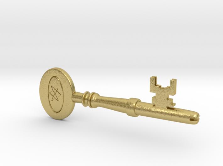 Supernatural Men of Letters Key Replica Prop 3d printed