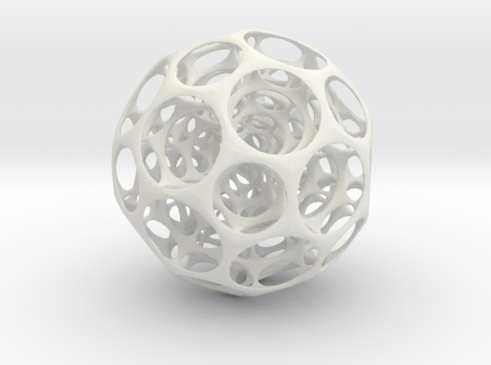 Fractal Soccerball 3d printed