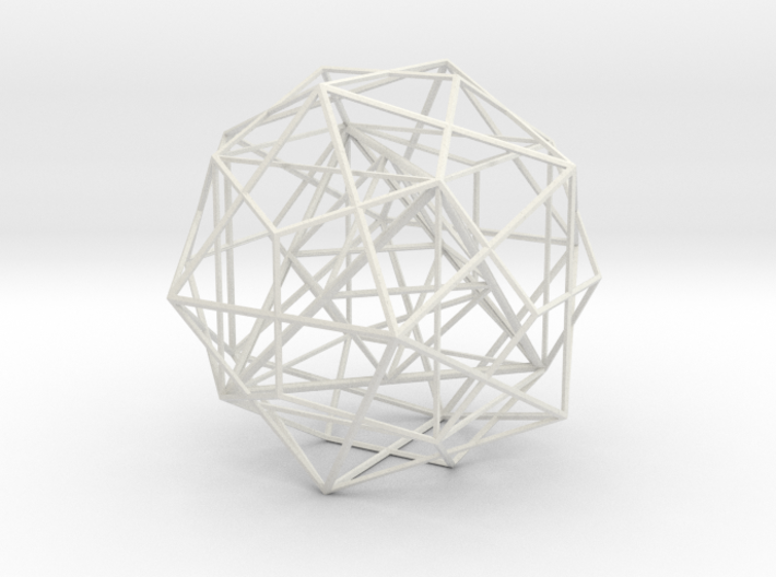 Nested Polyhedra, Large 3d printed