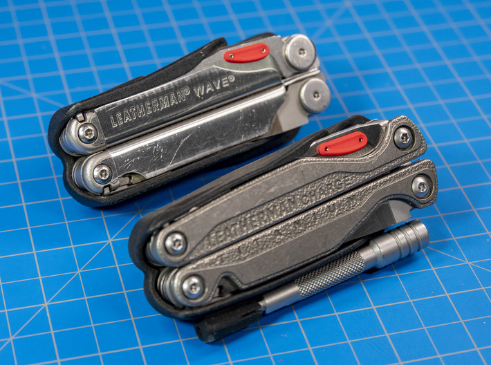 Thumb Tabs for Leatherman Wave or Charge 3d printed