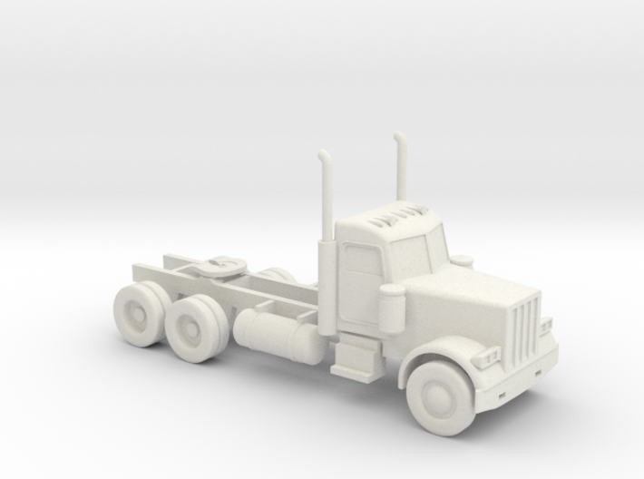 Peterbilt 379 Daycab - 1:50scale 3d printed