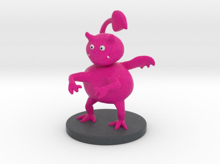 Lil' Red Devil - Not Quite Evil - Cartoon Figurine 3d printed