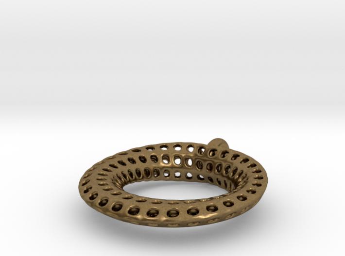 Mobius Pendant or Earring  3d printed