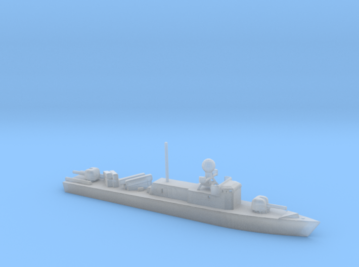 1/700 Scale German Albatros 143 Class Patrol Ship 3d printed