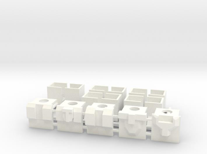 Armor for Technobot Kreons (Set 1 of 2) 3d printed