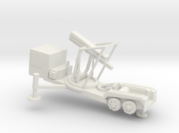 1/144 Scale M504 Missile Launcher 3d printed