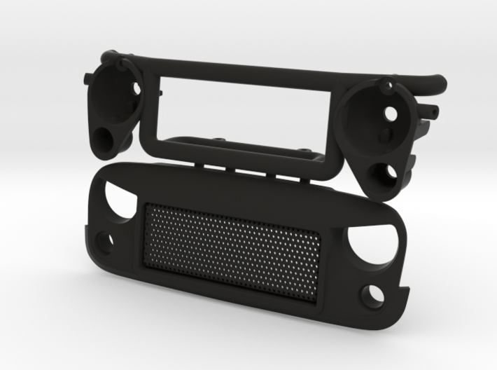 AW20006 Wraith 1.9 Spartan Grill & Mount 3d printed
