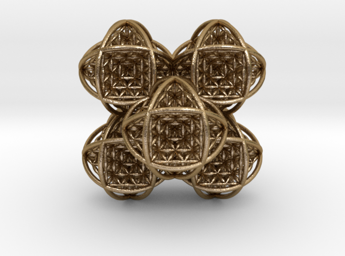 Flower of Life Stack 7 3d printed
