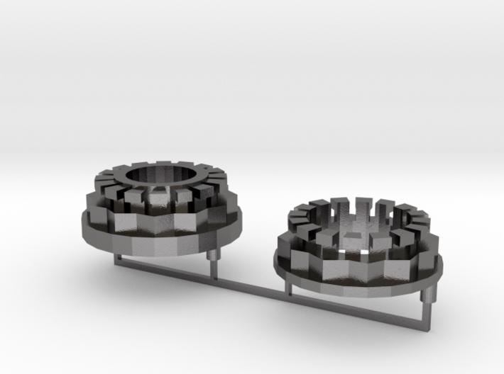 Ducati Wheel Nuts 3d printed