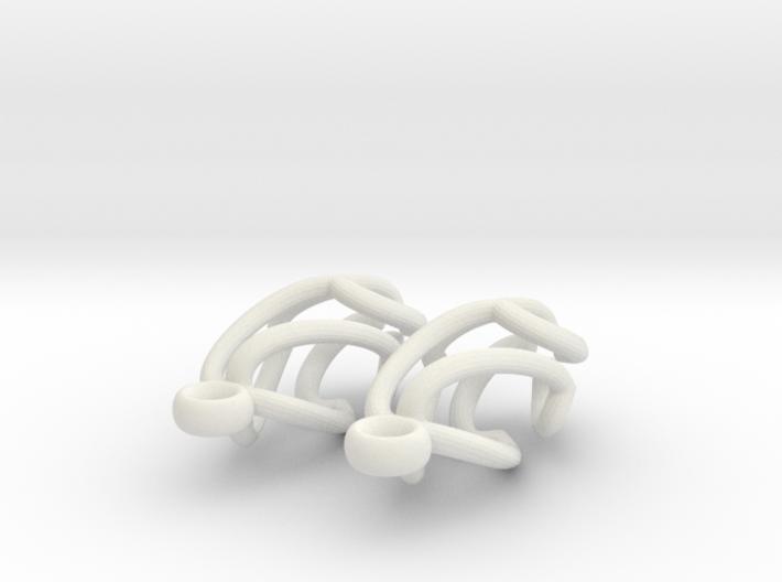 Swing Earrings 3d printed