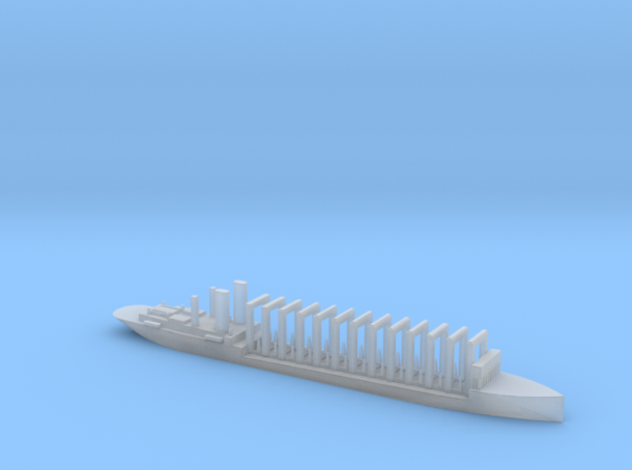 1/2400 Scale AC-3 USS Jupiter 1913 Collier 3d printed
