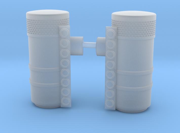 1/16 Scale Peterbilt Hood Air filter Housing 3d printed