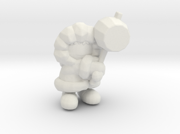Ice Climber 1/60 miniature for games and rpg 3d printed