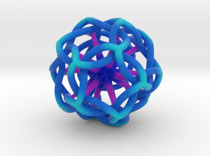 Icosahedrostar 75mm 3d printed