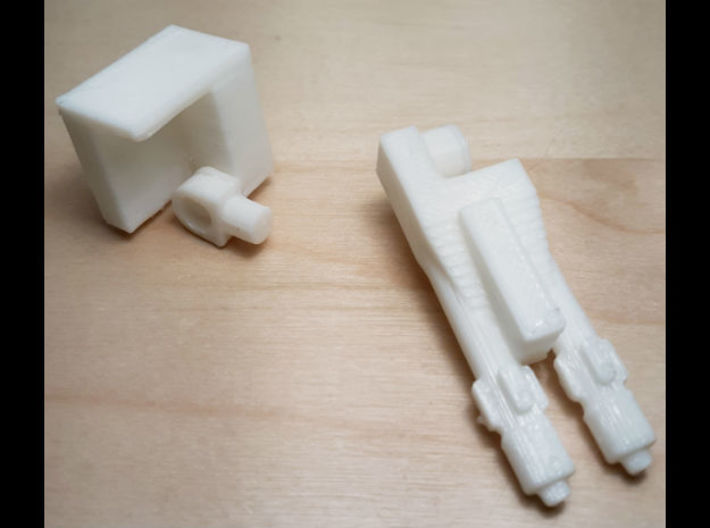 Butcher's Armory: Missile Pod and Dual Cannon 3d printed