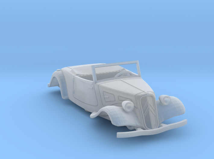 1:72 Citroen Traction Roadster 3d printed