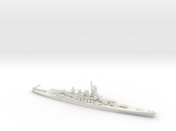 Italian Littorio-class Battleship 3d printed