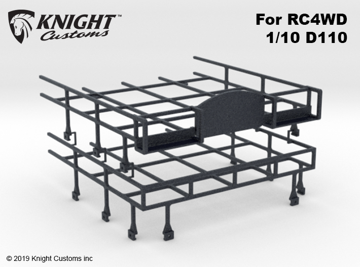 CA10005 Camel D110 Roof Rack 3d printed