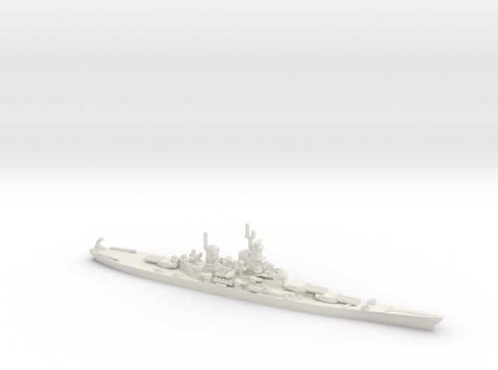 US Iowa Class Battlesahip 3d printed
