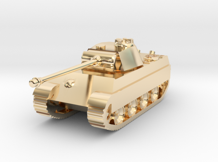 Tank - Panther G - size Small 3d printed