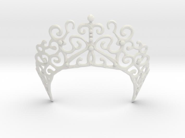 Romantic Crown 3d printed