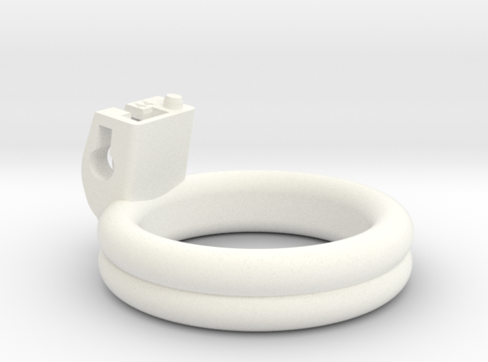 Cherry Keeper Ring - 44mm Double Flat 3d printed