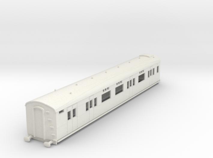 o-76-sr-d2654-gen-saloon-brake-coach 3d printed