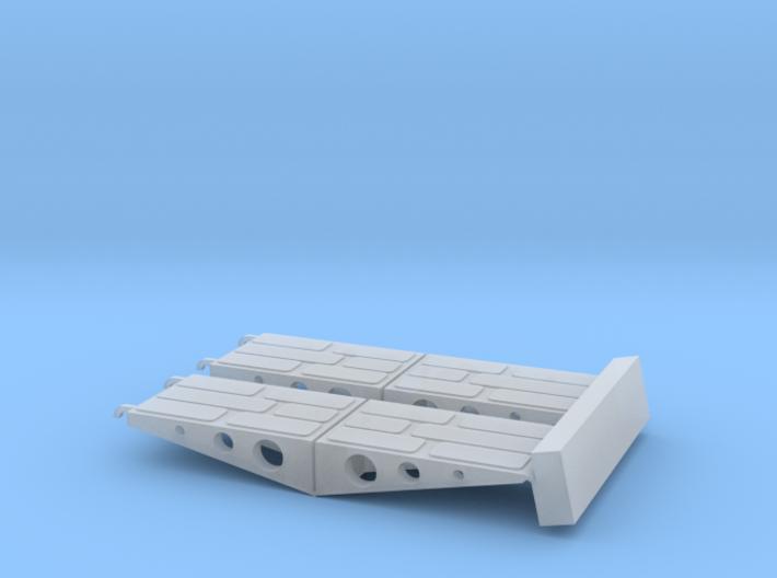 Vehicle ramps for C-130 Hercules (Italeri 1/48) 3d printed