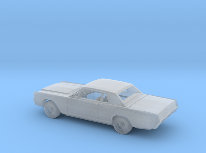 1/160 1969 Lincoln Continental Coupe Kit 3d printed